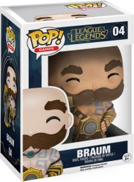 Figurine Funko Pop League of Legends #4 Braum