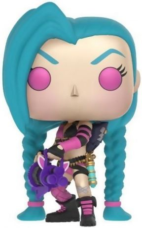 Figurine Funko Pop League of Legends #05 Jinx