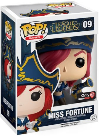 Figurine Funko Pop League of Legends #09 Miss Fortune