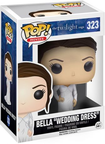 "Figurine Funko Pop Twilight #323 Bella ""Robe de Mariage"""