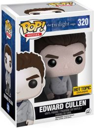 Figurine Funko Pop Twilight #320 Edward Cullen - Pailleté
