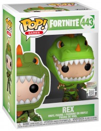 Figurine Funko Pop Fortnite #443 Rex