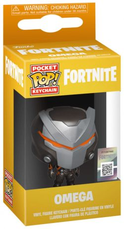 Figurine Funko Pop Fortnite #00 Oméga - Porte-clés