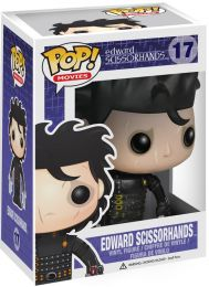 Figurine Funko Pop Edward aux mains d'argent #17 Edward Scissorhands