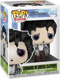 Figurine Funko Pop Edward aux mains d'argent #980 Edward en Vêtements Habillés