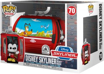 Figurine Funko Pop Parcs Disney  #70 Disney Skyliner et Mickey Mouse