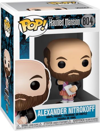 Figurine Funko Pop Haunted Mansion #804 Alexander Nitrokoff