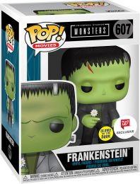 Figurine Funko Pop Universal Monsters #607 Frankenstein - Brillant dans le noir
