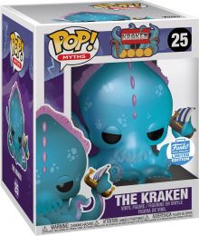 Figurine Funko Pop Mythes et Légendes #25 Le Kraken - 15 cm