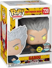 Figurine Funko Pop One Punch Man #720 Garou - Brillant dans le noir
