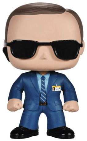 Figurine Funko Pop Marvel : Les Agents du SHIELD #53 Agent Coulson