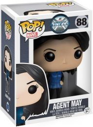 Figurine Funko Pop Marvel : Les Agents du SHIELD #88 Agent May