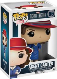 Figurine Funko Pop Marvel : Les Agents du SHIELD #96 Agent Carter
