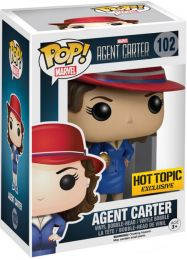 Figurine Funko Pop Marvel : Les Agents du SHIELD #102 Agent Carter