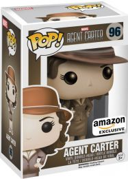 Figurine Funko Pop Marvel : Les Agents du SHIELD #96 Agent Carter - Sépia
