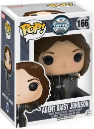 Figurine Funko Pop Marvel : Les Agents du SHIELD #166 Agent Daisy Johnson