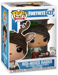 Figurine Funko Pop Fortnite #437 Red-Nosed Raider