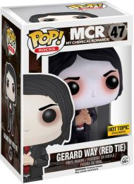 Figurine Funko Pop My Chemical Romance (MCR) #47 Gerard Way (Cravatte Rouge)