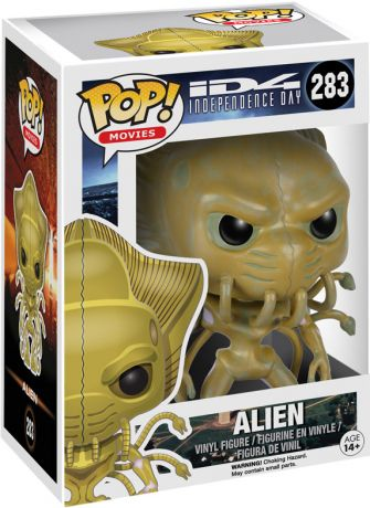 Figurine Funko Pop Independence Day : Le Jour de la riposte (ID4) #283 Alien