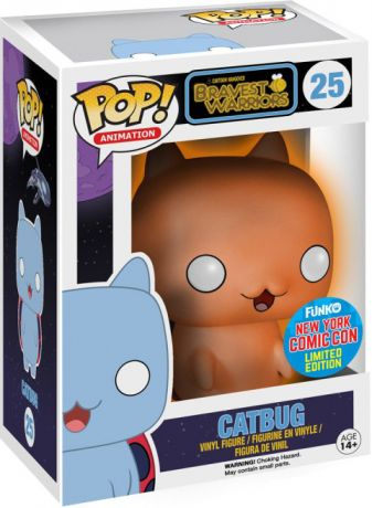 Figurine Funko Pop Bravest Warriors #25 Catbug - Brillant dans le noir