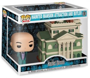 Figurine Funko Pop Haunted Mansion #19 Manson hanté avec Majordome