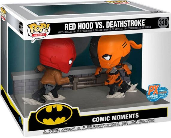 Figurine Funko Pop Batman [DC] #336 Red Hood vs Deathstroke
