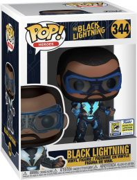 Figurine Funko Pop DC Super-Héros #344 Black Lightning