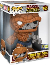 Figurine Funko Pop Marvel Zombies #665 La Chose en Zombie - 25 cm