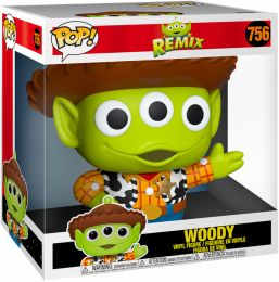 Figurine Funko Pop Alien Remix [Disney] #756 Alien (Woody) - 25 cm