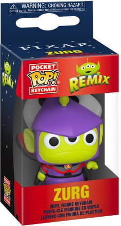 Figurine Funko Pop Alien Remix [Disney] #00 Alien (Zurg) - Porte-clés