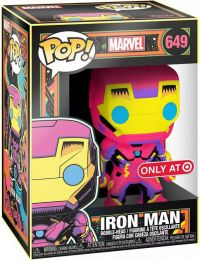Figurine Funko Pop Marvel Comics #649 Iron Man - Néon