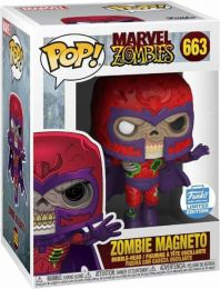 Figurine Funko Pop Marvel Zombies #663 Magneto en Zombie