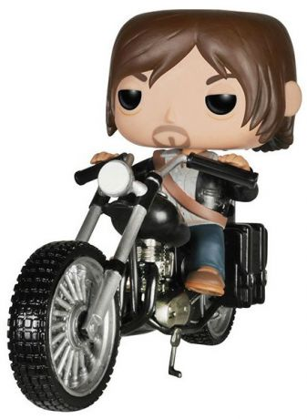 Figurine Funko Pop The Walking Dead #08 Daryl Dixon's Chopper