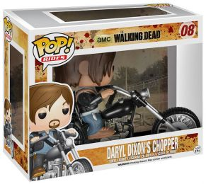 Figurine Funko Pop The Walking Dead #8 Daryl Dixon's Chopper