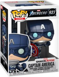 Figurine Funko Pop Avengers Gamerverse [Marvel] #627 Captain America