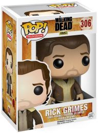 Figurine Funko Pop The Walking Dead #306 Rick Grimes