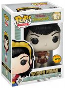 Figurine Funko Pop DC Comics Bombshells #167 Wonder Woman - Sepia [Chase]