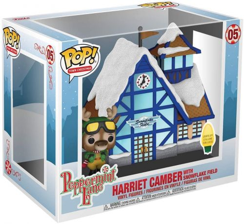 Figurine Funko Pop Peppermint Lane #05 Harriet Camber & Champ de Flocon de Neige
