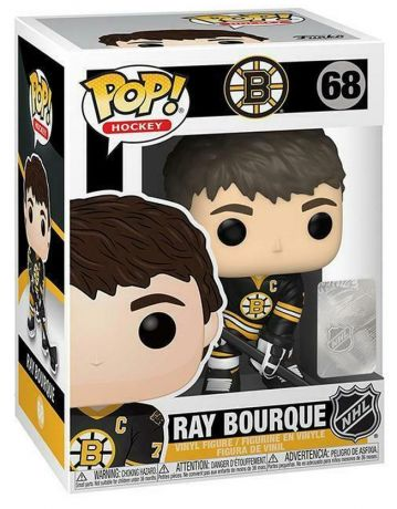 Figurine Funko Pop LNH: Ligue Nationale de Hockey #68 Ray Bourque (Bruins)