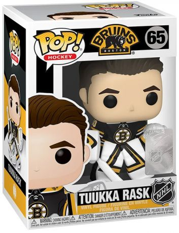 Figurine Funko Pop LNH: Ligue Nationale de Hockey #65 Tuukka Rask