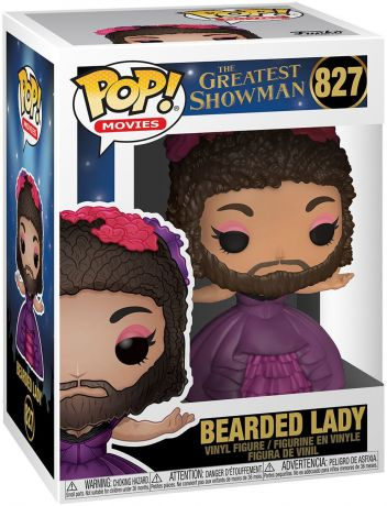 Figurine Funko Pop The Greatest Showman #827 Femme à Barbe