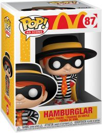 Figurine Funko Pop McDonald's #87 Hamburglar