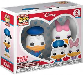 Figurine Funko Pop Mickey Mouse [Disney] #0 Donald & Daisy - 2-Pack