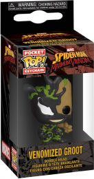 Figurine Funko Pop Spider-man : Maximum Venom [Marvel] #0 Bébé Groot Vénomisé - Porte-clés