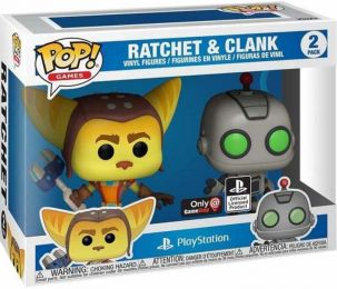 Figurine Funko Pop PlayStation #0 Ratchet & Clank - 2 pack