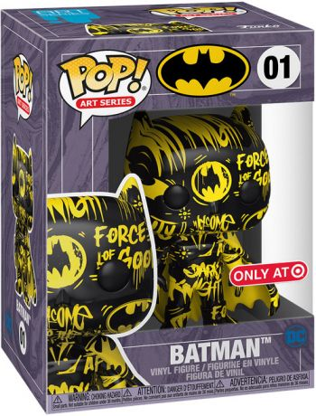 Figurine Funko Pop Batman [DC] #01 Batman