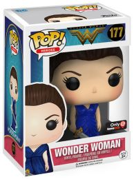 Figurine Funko Pop Wonder Woman [DC] #177 Wonder Woman - Robe Bleue