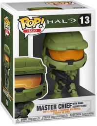 Figurine Funko Pop Halo #13 Master Chief avec MA40