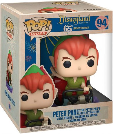 Figurine Funko Pop 65 ème anniversaire Disneyland [Disney] #94 Peter Pan vol