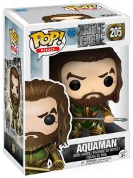Figurine Funko Pop Justice League [DC] 13486 - Aquaman (205) pas chère
